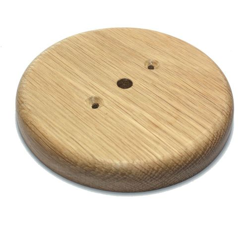 Hardwood Oak Pattress Sanded Finish 132mm Diameter
